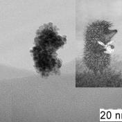 Агрегат наночастиц диоксида церия